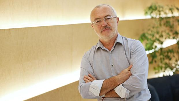 Antonio Montiel, durante la entrevista concedida a ABC