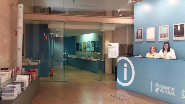 Tenda del Consorci de Museus de la Comunitat Valenciana