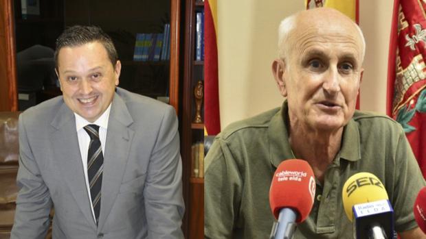 Francisco Sánchez (Ciudadanos) y Manuel Ibáñez (Compromís)