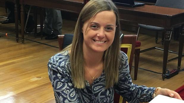 Sandra Vázquez, en una fotografía difundida en su perfil de Twitter