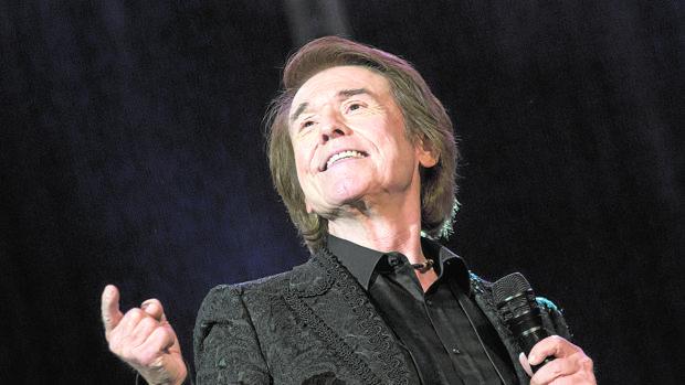 Imagen de Raphael durante el concierto ofrecido el pasado mes de julio en Alicante