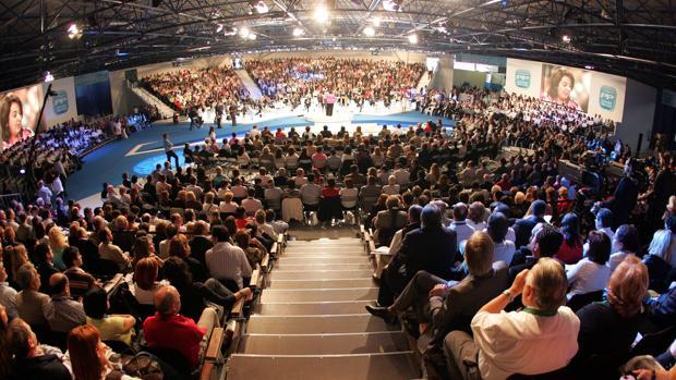 Imagen del congreso del PP celebrado en Feria Valencia el año 2008