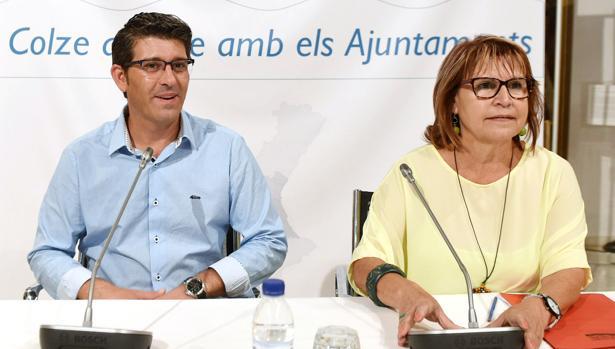 Imatge de Jorge Rodríguez i Conxa Garcia
