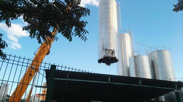 Desmantelamiento de la fábrica de Lauki en Valladolid