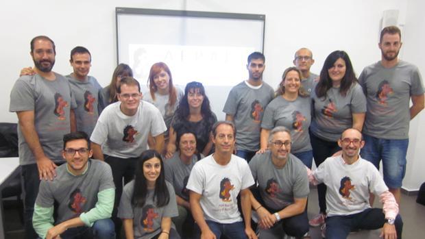 Imagen del equipo de formadores