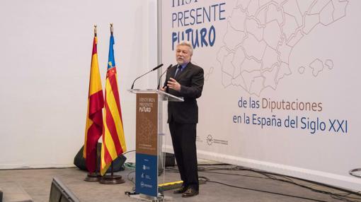 Antonio Beteta, durante el foro en Alicante