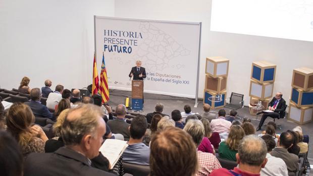 El secretario de Estado, Antonio Beteta, en el foro celebrado en Alicante