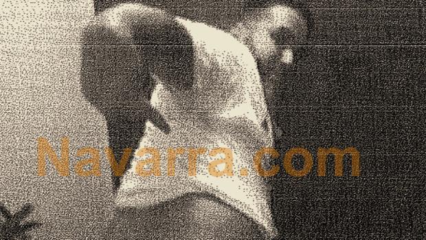 Uno de los cinco detenidos en un momento del vídeo de los hechos de la presunta violación en San Fermín