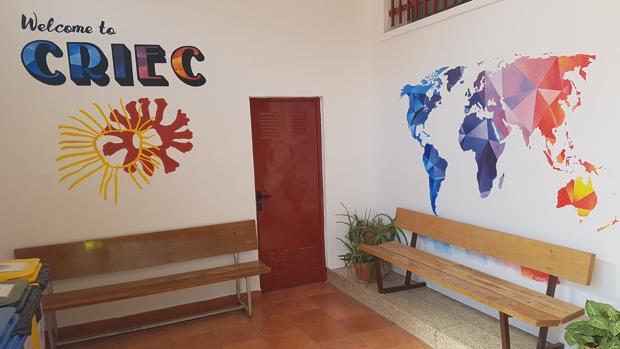 Una de las estancias del Centro Rural de Innovación Educativa de Cuenca