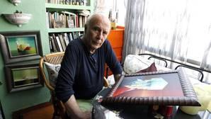 Francisco Regueiro y el actor de Sandokan, Premios Espiga de Honor de la Seminci