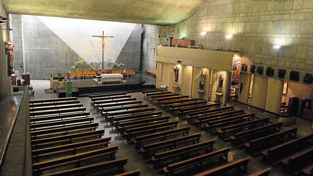 Una vista general de la parroquia que ha cumplido 50 años