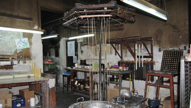 La técnica del noque es la que se utiliza en el taller de la familia Ortiz