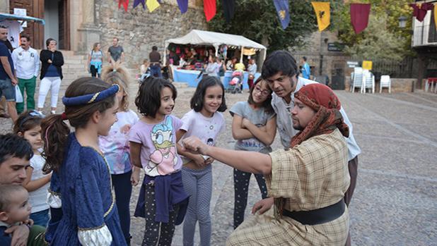 Los niños han disfrutado con las diferentes actividades programadas en la feria