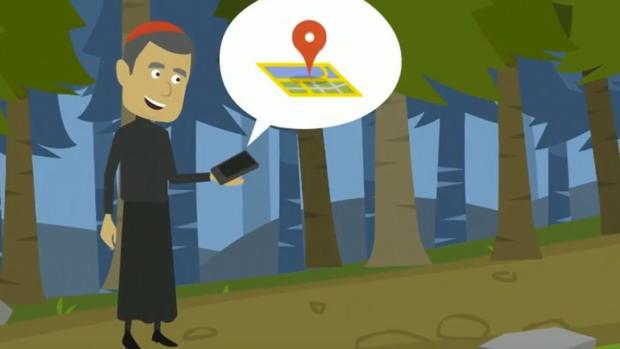 Ilustración sobre el funcionamiento de Confesor GO