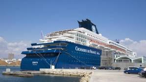 Alicante se establece como puerto base de los cruceros de Pullmantur