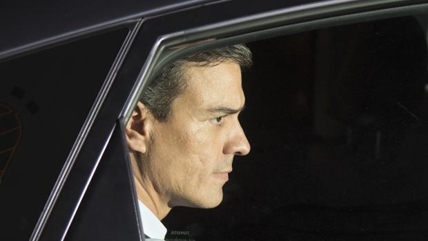 Pedro Sánchez, ex secretario general de PSOE