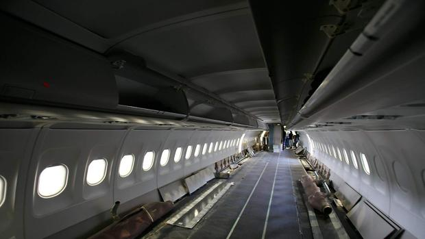Un Airbus de Small Planet en fase de adaptación para mercado canario