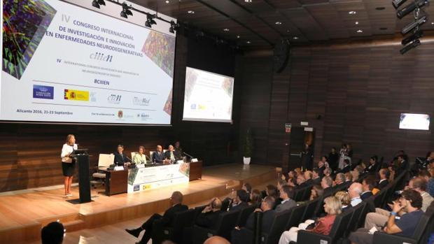 Congreso sobre enfermedades neurodegenerativas como el Alzheimer celebrado en Alicante