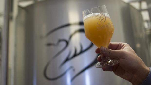 Fábrica de cerveza situada en Madrid