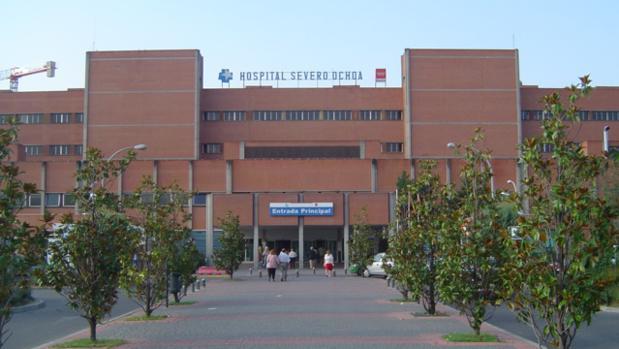 El bebé ha sido trasladado al hospital de Leganés en estado estable