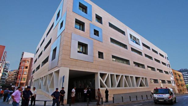 Imagen de la comisaría provincia de la Policía Nacional en Alicante
