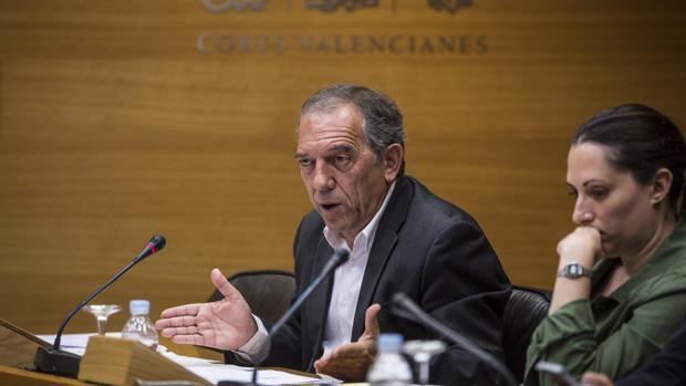 Imagen de Soler durante su comparecencia de este martes en las Cortes