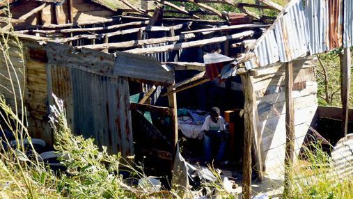 Imagen de los efectos del huracán