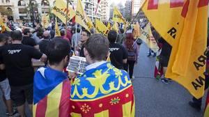 Compromís «condena» la festividad del 12 de octubre por «negar el derecho a la autodeterminación»