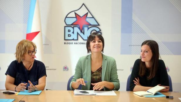 Pasado, presente y futuro: Las tres caras visibles del BNG en esta legislatura representan a tres generaciones diferentes del nacionalismo gallego para afrontar el inminente mandato de refundación del frente