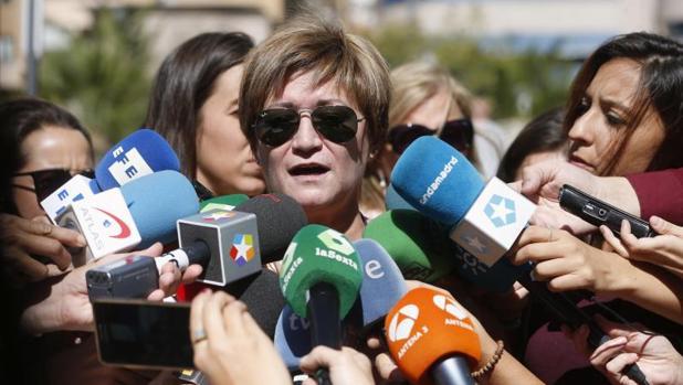 Isabel de la Fuente, madre de Cristina Arce, una de las víctimas del caso «Madrid Arena»