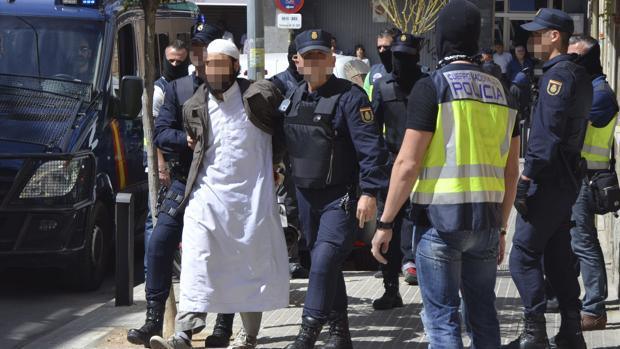 Operación contra el yihadismo realizada en Barcelona