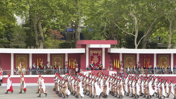 Así será el desfile del Día de la Fiesta Nacional