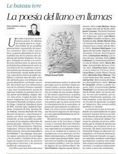 Artículo de Andrés García Cerdán