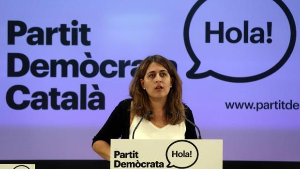 Marta Pascal, líder del PDECat