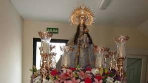 Destrozan una ermita para robar la corona de la Virgen... de latón