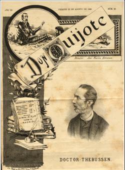 El Doctor Thebussen en la revista Don Quijote (1889)