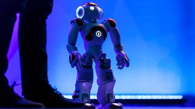 Imagen del robot desarrollado en Valencia
