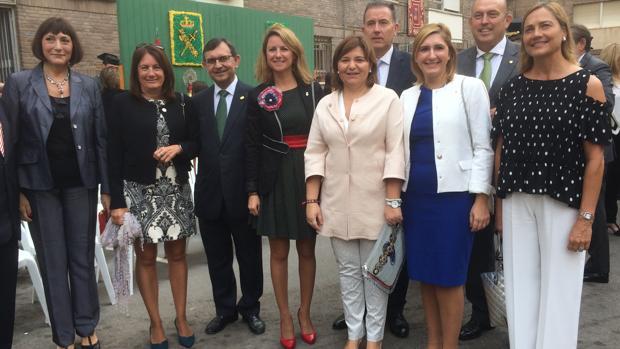 Imagen de la presidenta del PPCV en los actos del 12 de octubre celebrados en Castellón