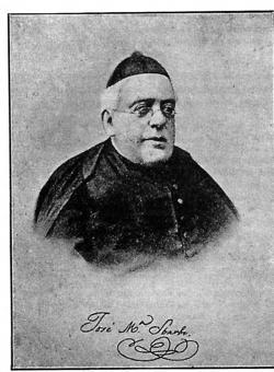 El sacerdote y cervantista José María Sbarbi