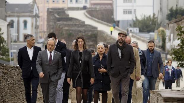 Los regidores de Lugo, Oviedo y Santiago, entre otros, celebraron ayer el Día del Camino Primitivo
