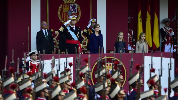 El primer Día de la Fiesta Nacional con un Gobierno en funciones y sin líder de la oposición