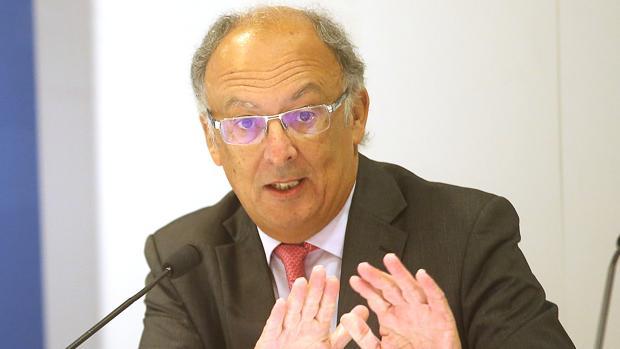 El expresidente de la Xunta González Laxe
