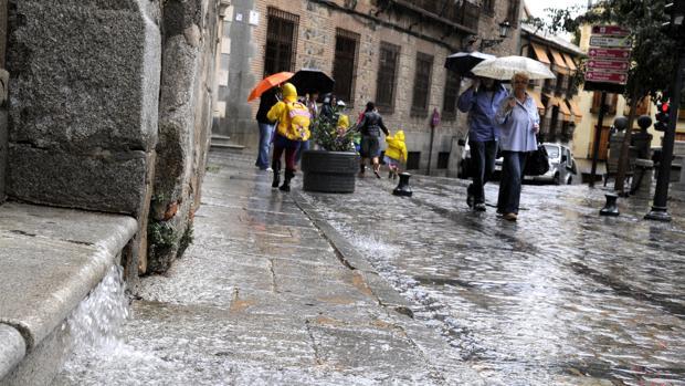 Toledo y Ciudad Real, en alerta por lluvias