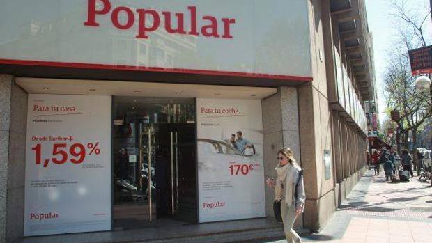 UGT ve«desproporcionado» el impacto que tendrá en Aragón el ERE del Banco Popular para toda España