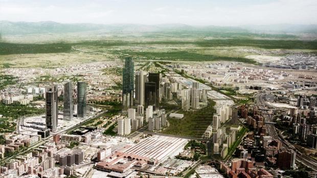 Proyecto de la nueva operación Chamartín, de Distrito Castellana Norte