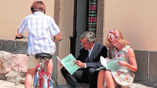 En Segovia se desarrolla una pequeña parte de la serie «Cuéntame»