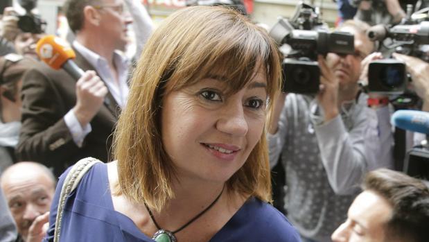 Francina Armengol en una imagen reciente