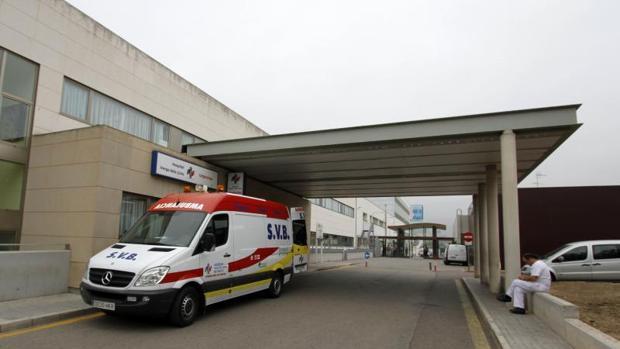 Acceso por Urgencias al Hospital Virgen de los Lirios de Alcoy