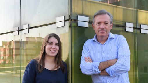 Cristina Puertes y Félix Francés