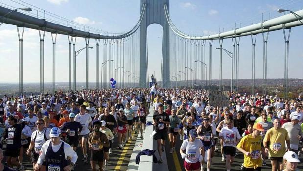 Unos 30.000 corredores participaron en la pasada edición del Maratón de Nueva York
